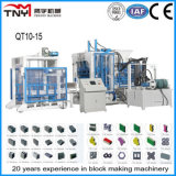 Qt10-15 Hydraulic Concrete Block Making Machine Brick Machine