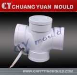 Plastic PVC Cross Pipe Fitting Mould