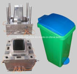 PP Single Cavity Plastic Dustbin Injection Mould