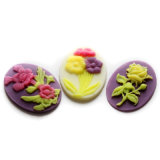 F0499 Flower Fondant Sugar Paste Chocolate Cake Decor Clay Craft Silicone Baking Mold
