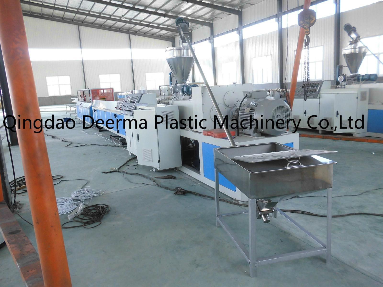 Good Plastic Machines For Production Of Wpc Pvc Profile