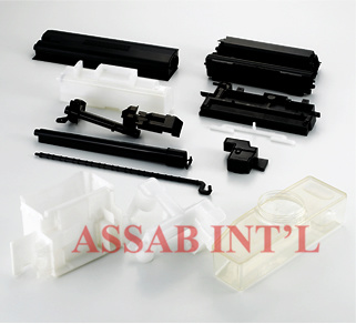 Gas-Assisted Injection Molded Parts Custom Injection Parts ...
